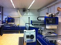 HM-Spoerri AG (Felder Schweiz) setzt auf FUNK-Innovationen im Vorführraum,  Felder bietet innovative Holzbearbeitungsmaschinen mit dem Funksystem FRI LAN