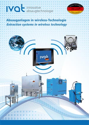 Absauganlagen in wireless-Technologie Katalog